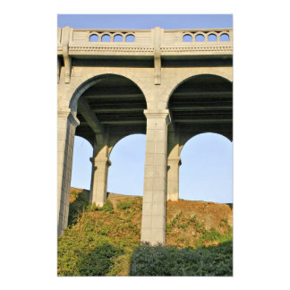 Arched supports Patterson Memorial Bridge Photo Print