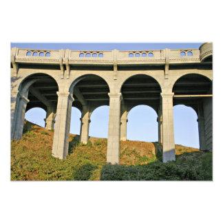 Arched supports Patterson Memorial Bridge Art Photo