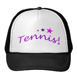 Arched Tennis with Stars Trucker Hat