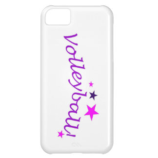 Arched Volleyball with Stars iPhone 5C Case