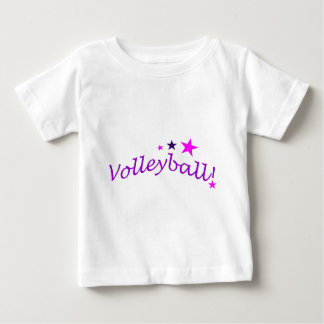 Arched Volleyball with Stars T-shirts