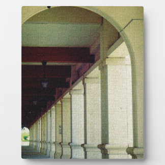 Arched Walkway Plaque