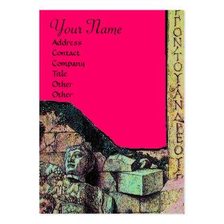 ARCHEO /Antiquary, monograma de la arqueología, Tarjetas De Visita Grandes