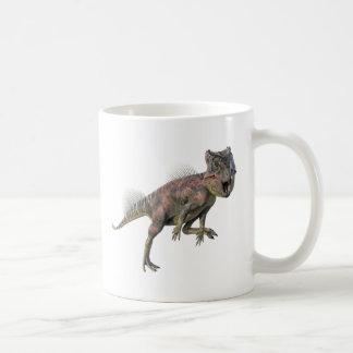 Archeoceratops Dinosaur Running Coffee Mug