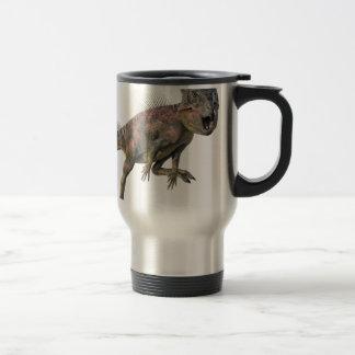 Archeoceratops Dinosaur Running Travel Mug