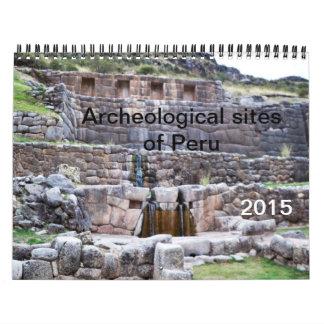 Archeological Sites of Peru Calendar