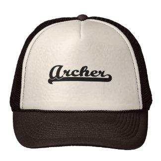 Archer Artistic Job Design Trucker Hat