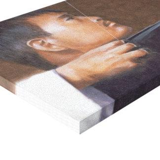 Archer Bhután Impresión En Lona