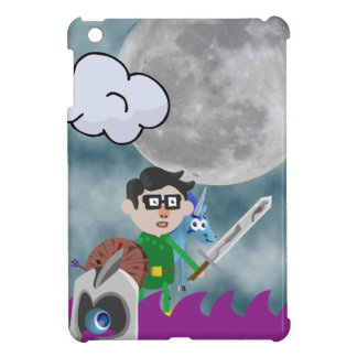 Archer boy in the mist of celestial battle! cover for the iPad mini