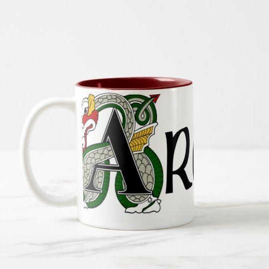 Archer Celtic Dragon Mug