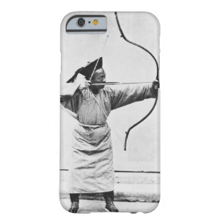 Archer chino, c.1870 (foto de b/w) funda barely there iPhone 6