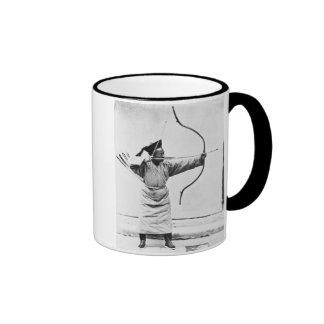 Archer chino, c.1870 (foto de b/w) taza de café