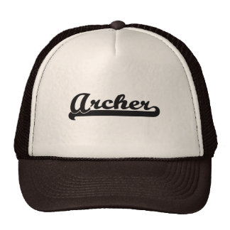 Archer Classic Job Design Trucker Hat