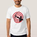 Archer con la blanco/la camiseta básica poleras