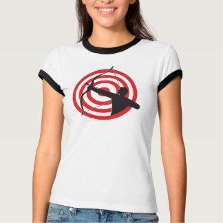 Archer con la blanco/la camiseta remeras