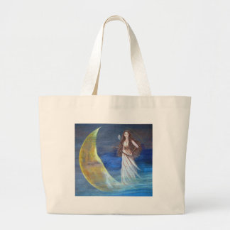 Archer de la luna bolsa tela grande