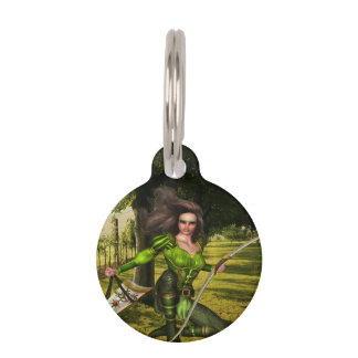 Archer Elf Pet ID Tags