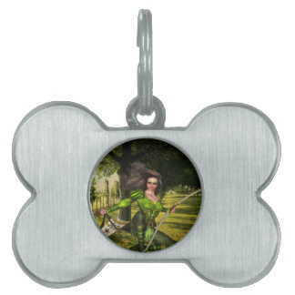 Archer Elf Pet Tag