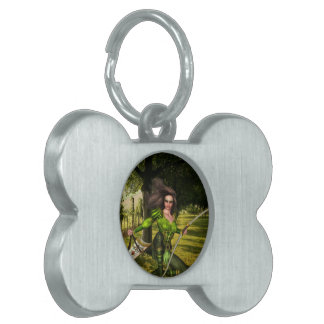 Archer Elf Pet Tags