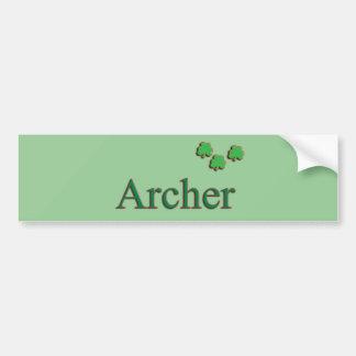 Archer Family Bumper Sticker