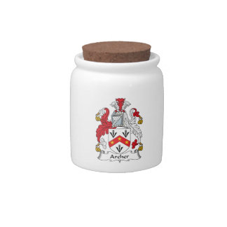 Archer Family Crest Candy Dishes