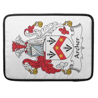 Archer Family Crest Sleeves For MacBook Pro