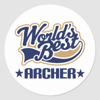 Archer Gift Classic Round Sticker