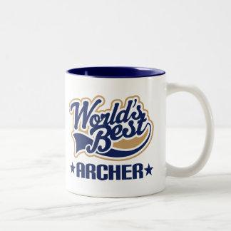 Archer Gift Two-Tone Coffee Mug
