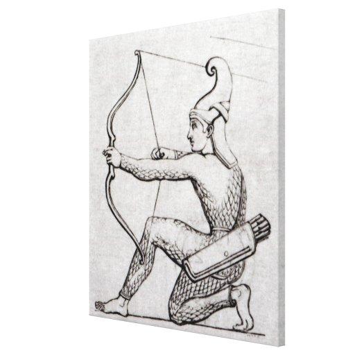 Archer Impresión En Lienzo Estirada