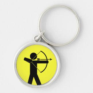 Archer keychain - yellow