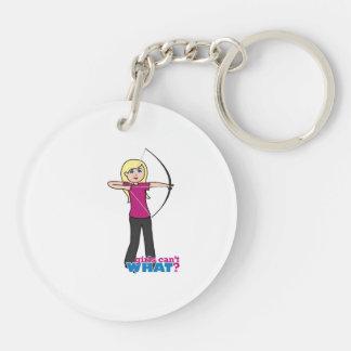 Archer - Light Acrylic Keychain