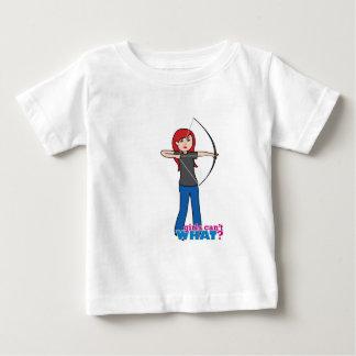 Archer - Light/Red Baby T-Shirt