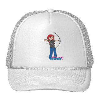 Archer - Light/Red Trucker Hat