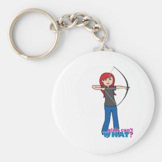Archer - Light/Red Key Chain