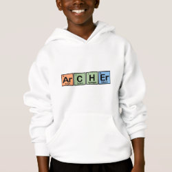 Kids' Hanes ComfortBlend® Hoodie with Archer design