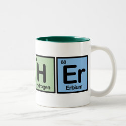 Two-Tone Mug with Archer design