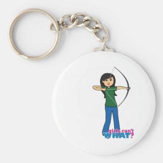 Archer - medio llavero redondo tipo pin