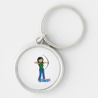 Archer - Medium Keychain