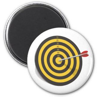 Archer N The Middle BullsEYE magnet