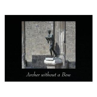 Archer sin arco postal