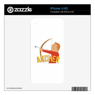 Archer Skin For iPhone 4S
