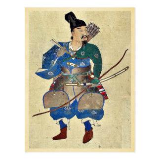 Archer Ukiyo-e. del guerrero Tarjeta Postal