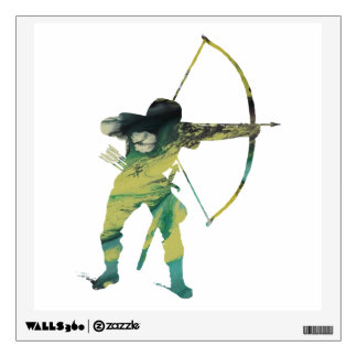 archer wall sticker