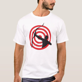 Archer With Target / Basic T-Shirt