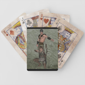 Archers 001 bicycle playing cards