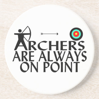 Archers Are Always On Point Coaster