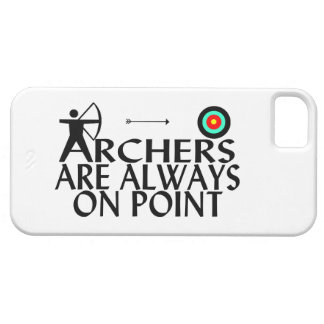 Archers Are Always On Point iPhone SE/5/5s Case