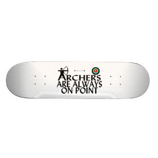 Archers Are Always On Point Skateboard Deck
