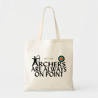 Archers Are Always On Point Tote Bag