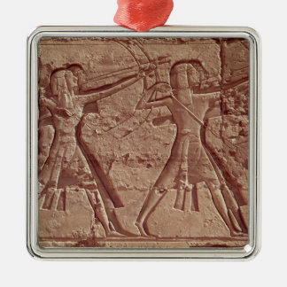 Archers, detail from the hunt of Ramesses III Ornament